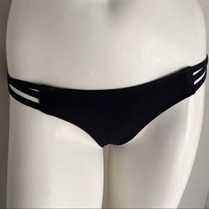 Victoria's Secret black The Cheeky panty